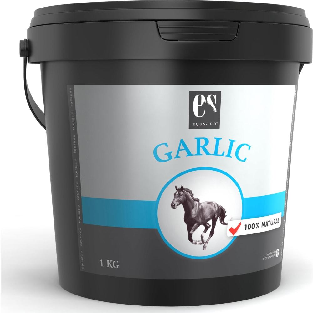Equsana Garlic -Sprødt og sundt hvidløgsgranulat