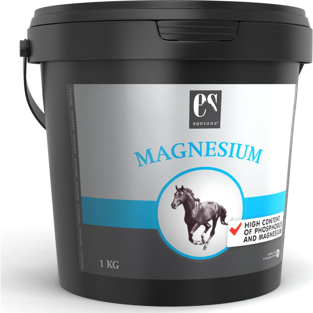 Magnesiumtilskud til ride- og køreheste, der indeholder fosfor og magnesium med høj tilgængelighed.