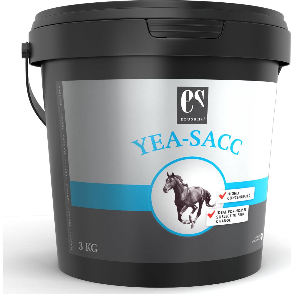 Yea-Sacc er en speciel ølgærstamme med et stort indhold af levende gærceller. Levende gærceller fremmer fordøjelse og udnyttelse af næringsstofferne i foderrationen.