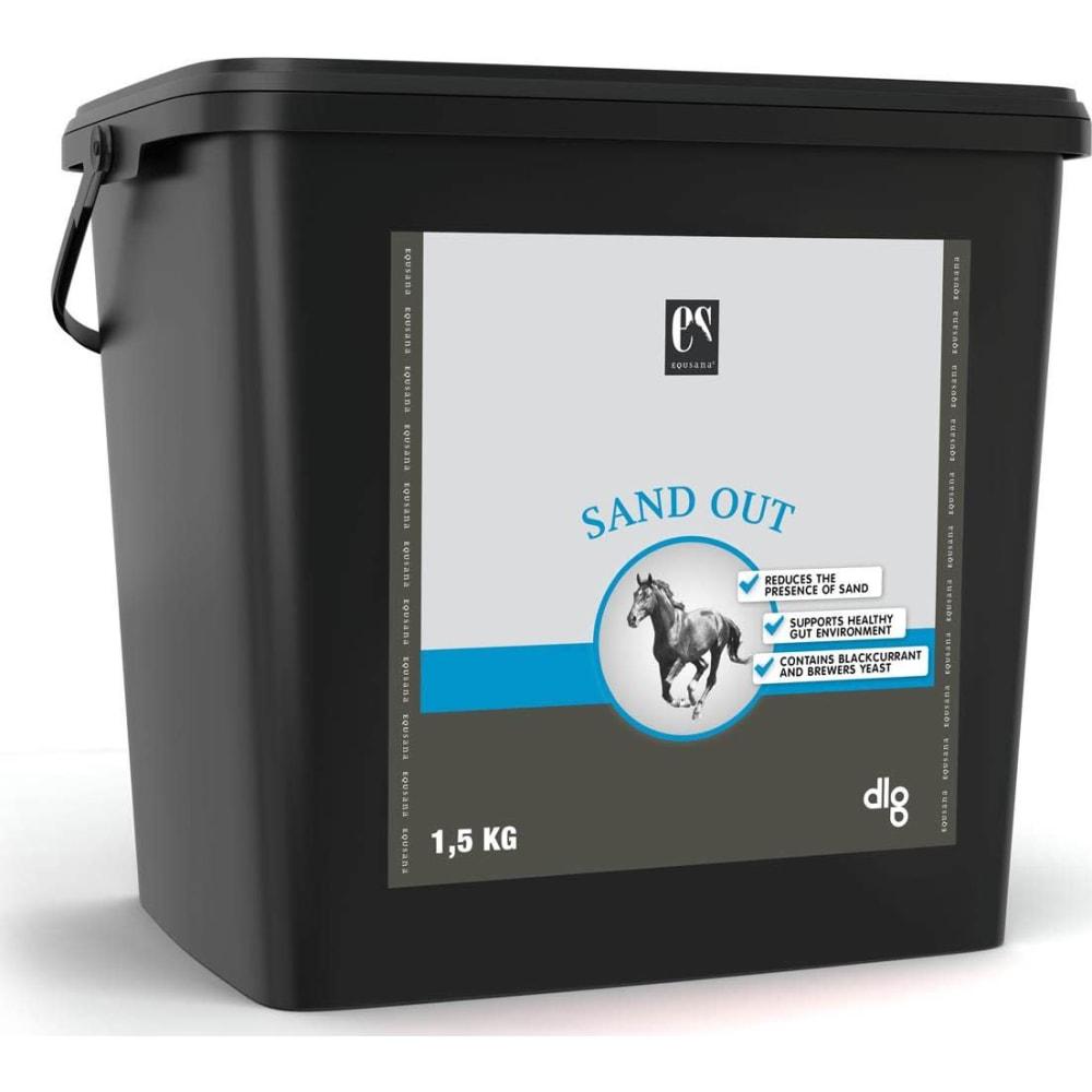 Velsmagende loppefrøskaller tilsat solbær og ølgær. Produktet er velegnet til heste, der har gået eller går på jordfolde eller nedbidte græsmarker, og dermed er i risiko for at indtage sand og jord.