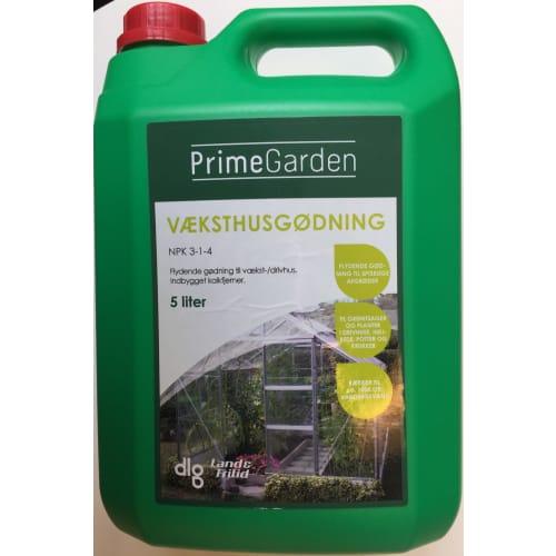 Væksthusgødning 3-1-4 + micro 5 liter