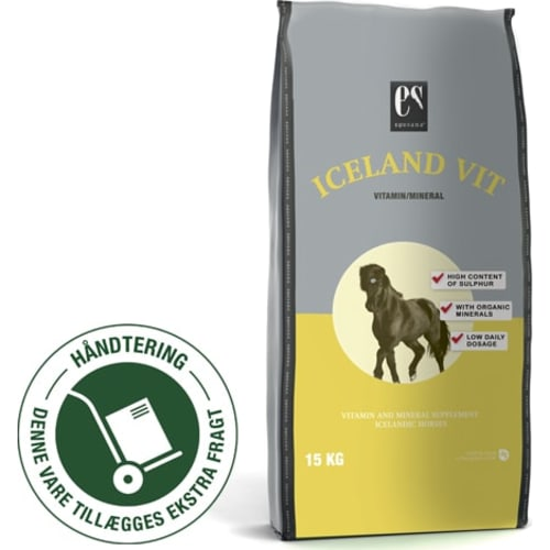 Equsana Iceland Vit - 15 kg