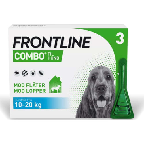 Frontline Combo Hund(10-20 kg) 3X1,34