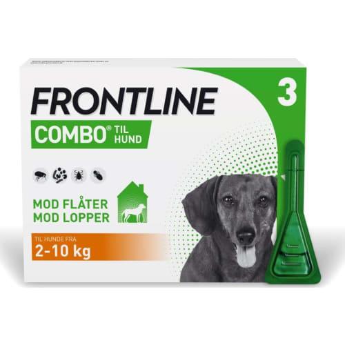Frontline Combo Hund (2-10 kg) 3X0,67