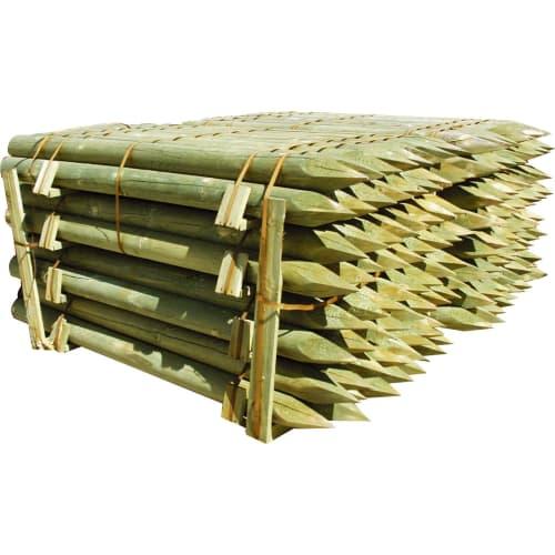 Pæl trykimprægneret, 5x150 cm (360 stk)
