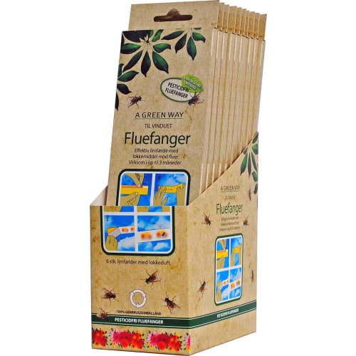 A Green Way Fluefanger Vinduet 6stk(12