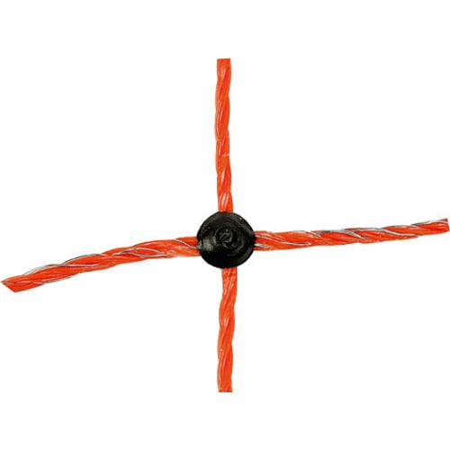 Elektrisk fårehegn, orange, 90cm · 50m