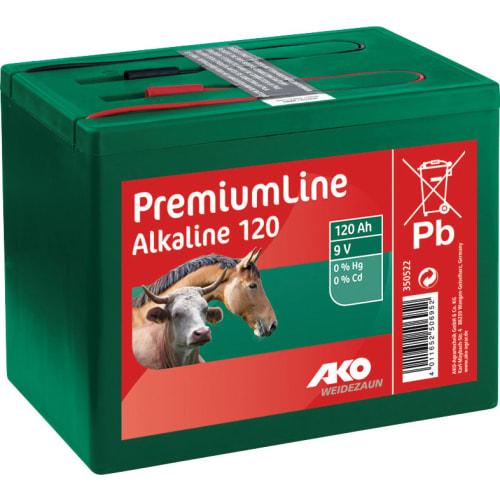 Alkaline 9 Volt tør Batteri 9 V. 120 Ah