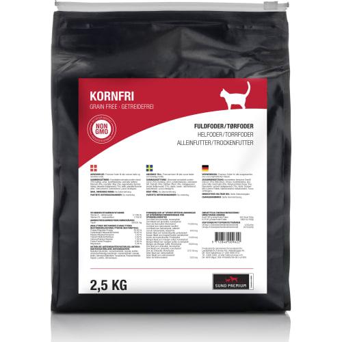 Sund Premium Kat Kornfri 2,5 kg