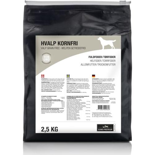 Sund Premium Hvalp Kornfri 2,5 kg