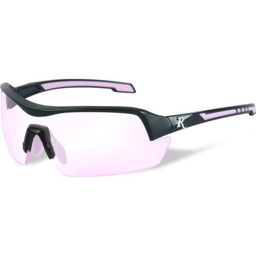 skydebrille DA klar rosa Linse-sort/rosa