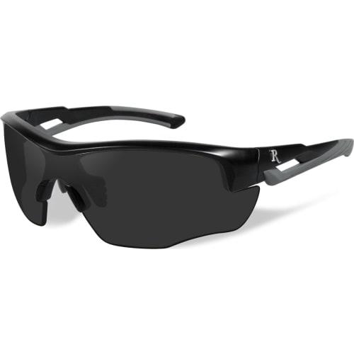 Skydebrille Remington Ung m. sort linse, sort/grå stel