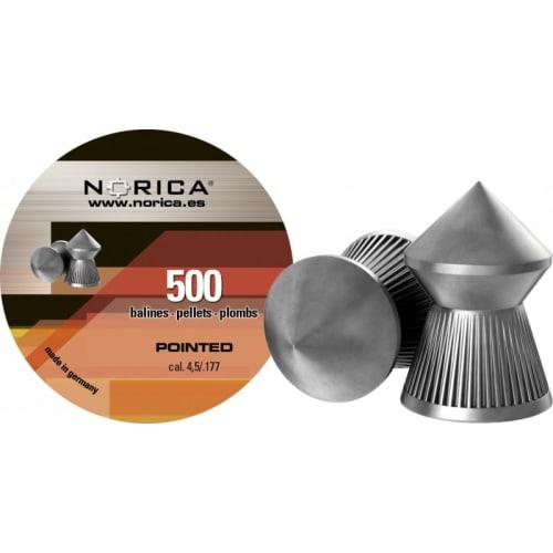 Norica Pointed hagl 4.5 500 st metaldåse