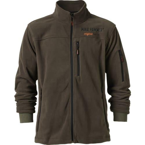 Mike Hammer fleece jakke - str. S
