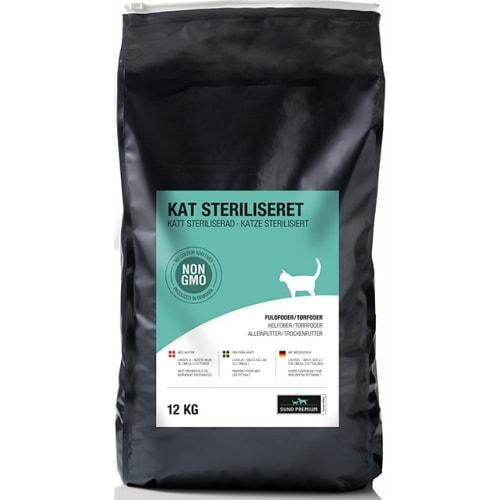 Sund Premium Kat Steriliseret 12 kg