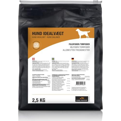 Sund Premium Hund Idealvægt 2,5 kg