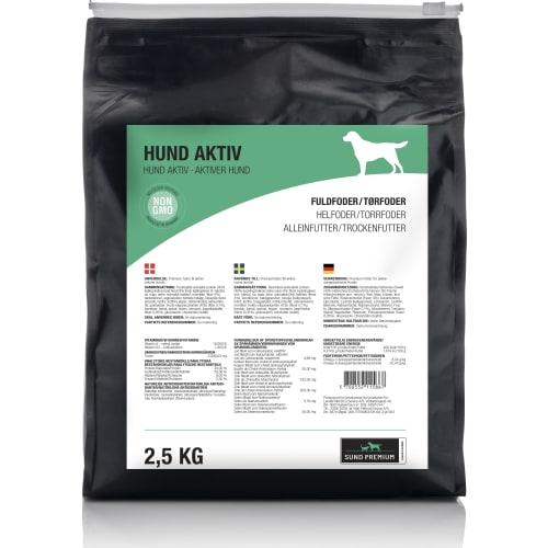 Sund Premium Hund Aktiv 2,5 kg
