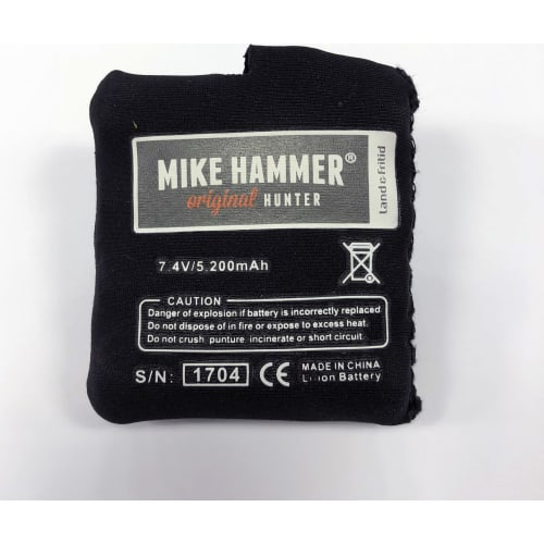 Mike Hammer Extra batteri