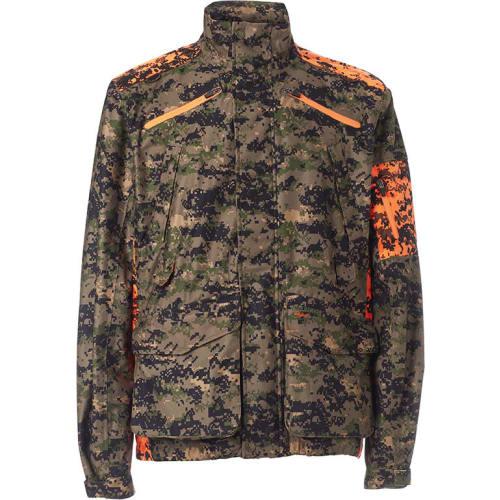 MikeH - Camouflage orange jakke - small