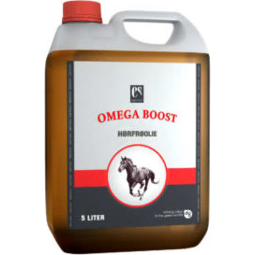 Equsana Omega Boost, hørfrøolie 5 ltr.