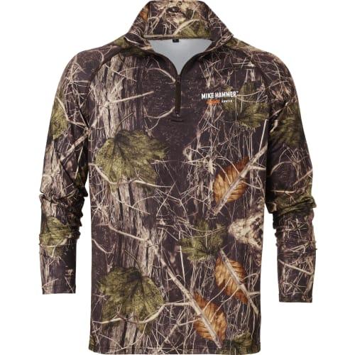 MikeH - trøje 1/3 lynlås S