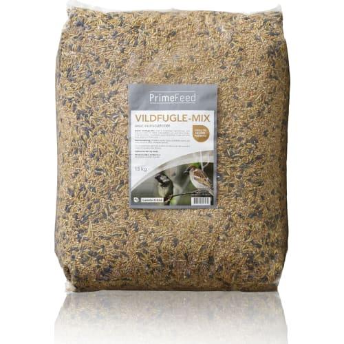Vildfuglefoder, Basic-Mix, 15 kg