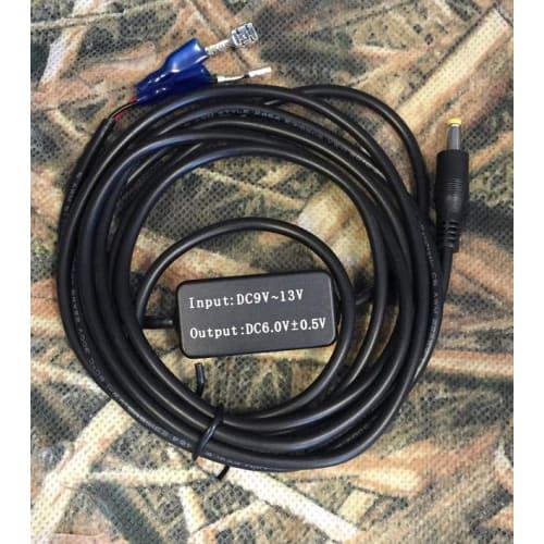 Kabel til eksternt strøm 12v til 6v