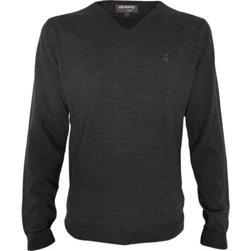 MH Strikket sweater, V-hals L