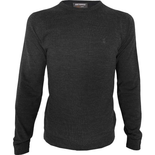 MH Strikket sweater, rund hals L